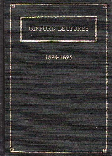 9780404604530: Philosophy of Theism (Gifford Lectures)