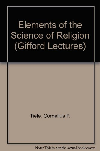 9780404604806 Elements Of The Science Of Religion Gifford Lectures