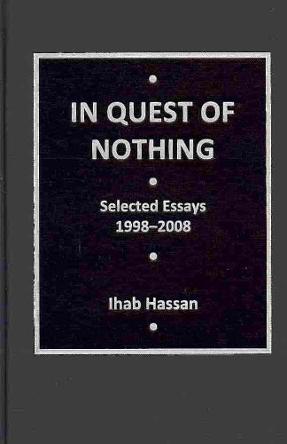 9780404615994: In Quest of Nothing: Selected Essays, 1998-2008 (AMS Studies in Modern Literature)