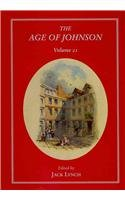 The Age of Johnson: a Scholarly Annual (Hardback)