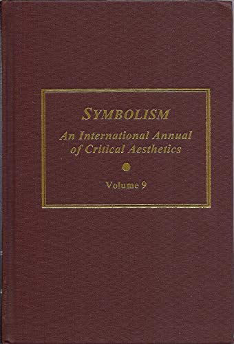 9780404635695: Symbolism v. 9: An International Annual of Critical Aesthetics