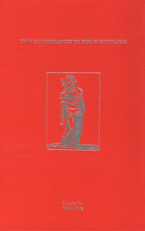 Two Concordances to Ripa's Iconologia (AMS Studies: Mason Tung
