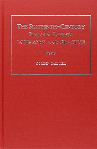 9780404637170: The Sixteenth-century Italian Impresa In Theory And Practice (Ams Studies in the Emblem)