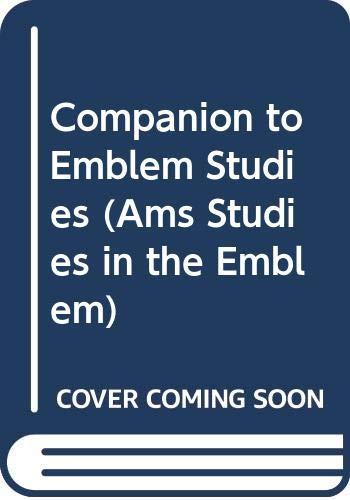 9780404637200: Companion to Emblem Studies (Ams Studies in the Emblem)