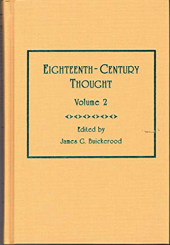 9780404637620: 2: Eighteenth-Century Thought