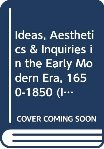 Ideas, Aesthetics & Inquiries in the Early: Kevin L. Cope.
