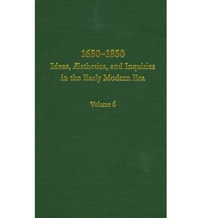 9780404644062: 1650-1850: Ideas, Aesthetics, and Inquiries in the Early Modern Era