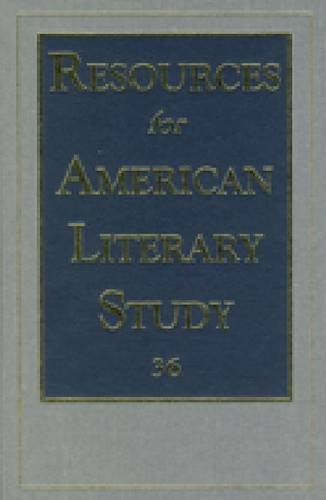 9780404646363: Resources for American Literary Study