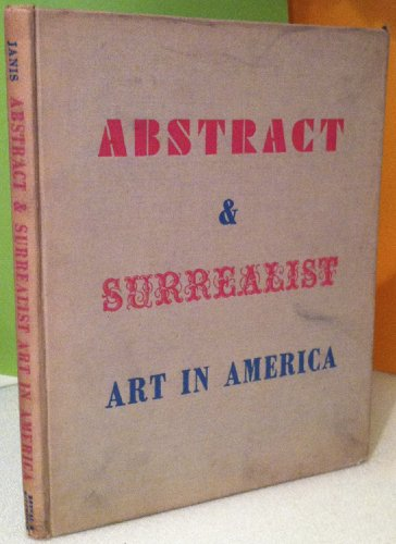 9780405007293: Art and Surrealist Art in America (Contemporary Art)