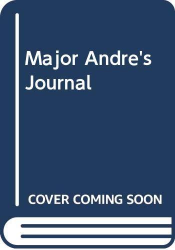 9780405011030: Major Andre's Journal