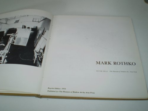 Mark Rothko (Museum of Modern Art) (0405015747) by Selz, Peter Howard