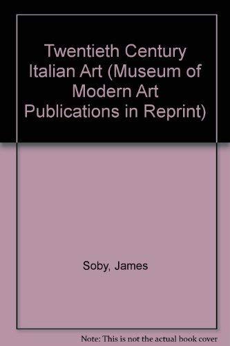 9780405015786: Twentieth Century Italian Art (Museum of Modern Art Publications in Reprint)