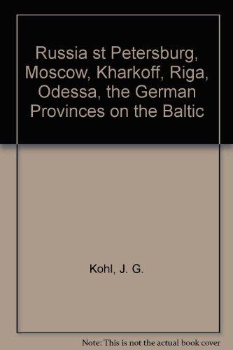 Russia: Kohl, J.G.