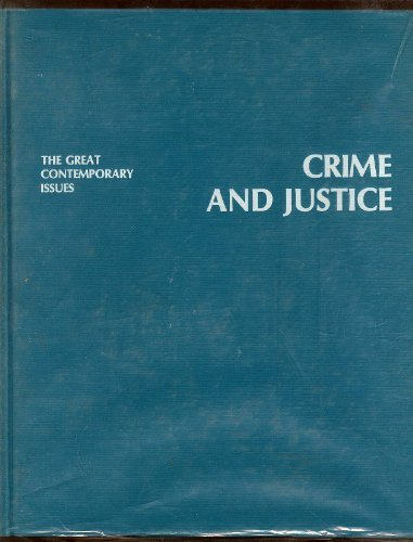 Crime and Justice (The Great contemporary issues): Clark, Ramsey