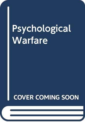 9780405047558: Psychological Warfare (International propaganda and communications)