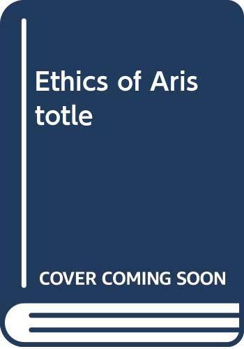 9780405048333: Ethics of Aristotle (Philosophy of Plato and Aristotle)