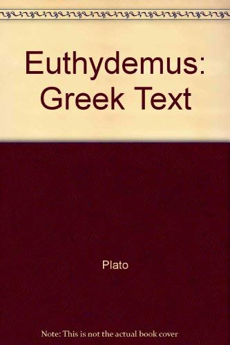 9780405048388: Euthydemus of Plato (Philosophy of Plato and Aristotle)