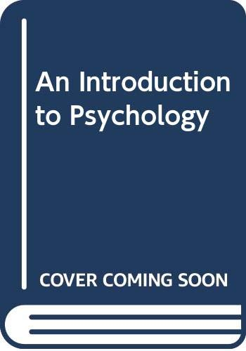 9780405051739: An Introduction to Psychology (Classics in psychology)