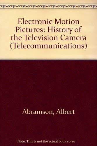 9780405060311: Electronic Motion Pictures (Telecommunications)