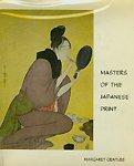 9780405065637: Masters of the Japanese Print: Moronobu to Utamaro
