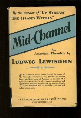 9780405067297: Mid Channel (The Modern Jewish Experience)