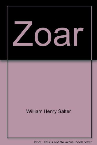 9780405070488: Zoar (Perspectives in psychical research)