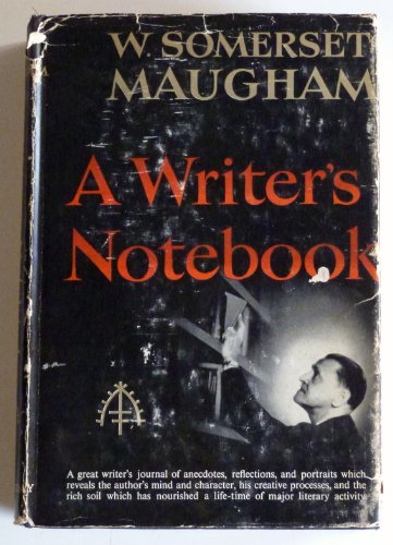 9780405078323: A Writer's Notebook