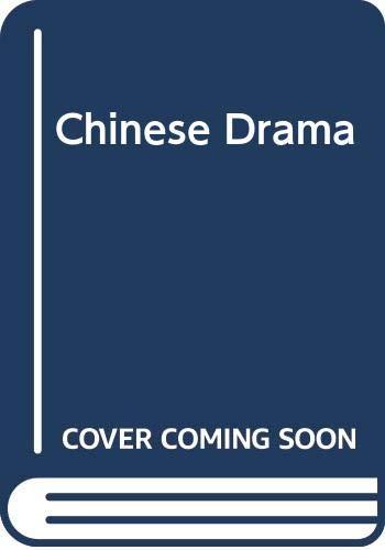 9780405082122: Chinese Drama