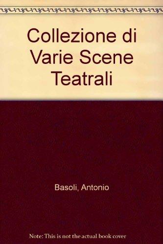 9780405082412: Collezione Di Varie Scene Teatrali