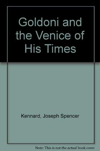 9780405086915: Goldoni and the Venice of His Times