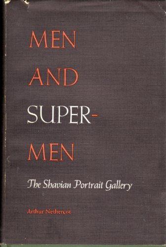 9780405088155: Men and Supermen: The Shavian Portrait Gallery