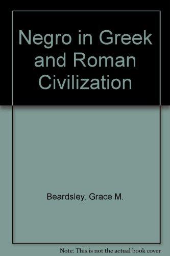 9780405105814: Negro in Greek and Roman Civilization