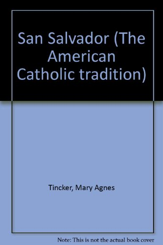 9780405108648: San Salvador (The American Catholic tradition)