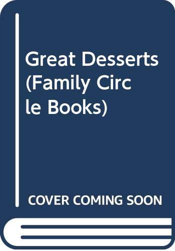 9780405114045: Great Desserts (Family Circle Books)