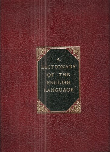 9780405124143: Dictionary of the English Language