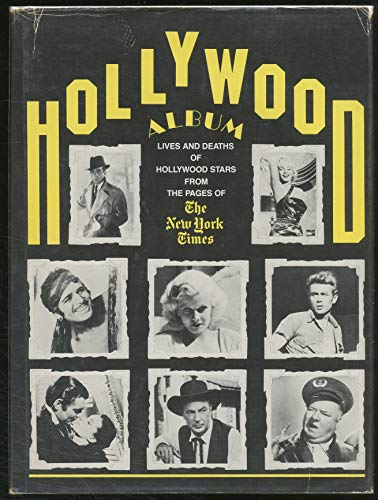 9780405124167: Hollywood Album 2: Lives and Deaths of Hollywood Stars from the Pages of the New York Times