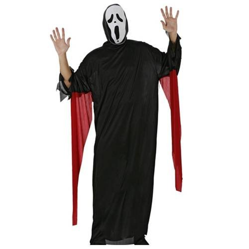 9780405699818: Halloween d�guisement fant�me costume Scream T.M/L