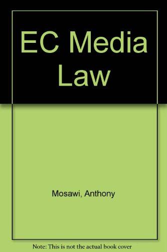 9780406002532: EC Media Law