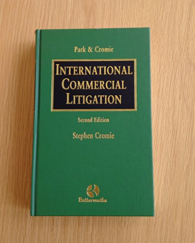 International Commercial Litigation 2nd Edition: Cromie