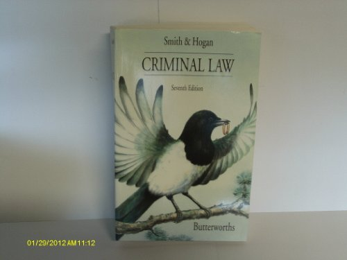 9780406003133: Criminal Law