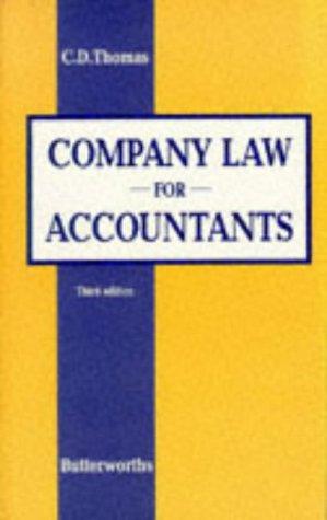 9780406003430: Company Law for Accountants