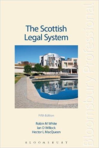 9780406005717: Scottish Legal System