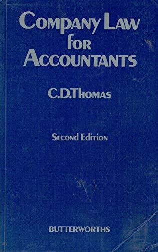 9780406009616: Company Law for Accountants