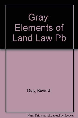 9780406011497: Elements of Land Law