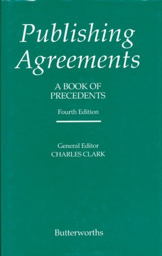 9780406020949: Publishing Agreements: A Book of Precedents
