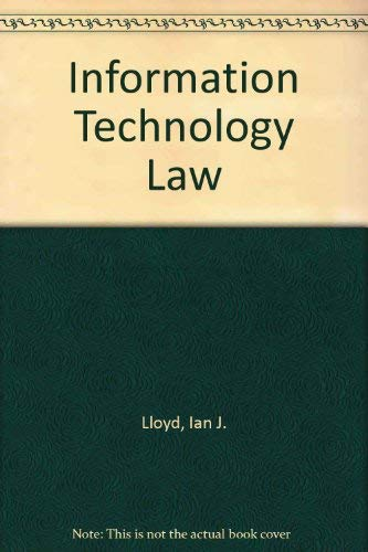 9780406024466: Information Technology Law