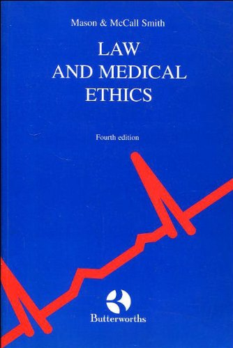 9780406024787: Law and Medical Ethics