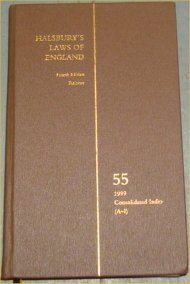 9780406034007: Halsbury's Laws of England: Vol.55