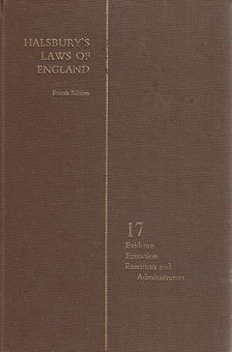 9780406034175: Halsbury's laws of England