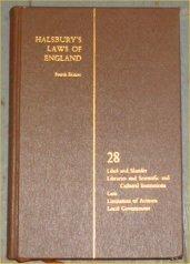 9780406034281: Halsbury's laws of England